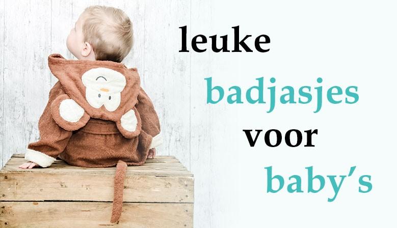 leuke badjesjes voor baby's